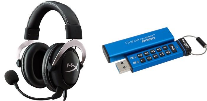 HyperX presenta audífonos oficiales para Xbox One y flash USB encriptado [CES 2016]
