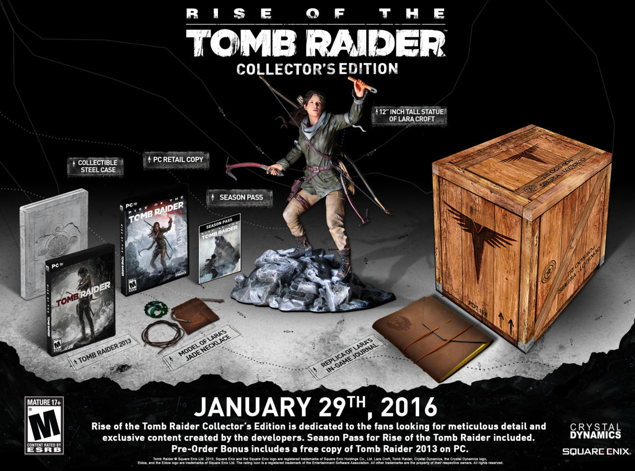 Rise of the Tomb Raider: video con detalles técnicos de la versión para PC