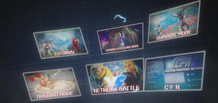 Street Fighter V nos muestra sus modos de juego en un nuevo Trailer
