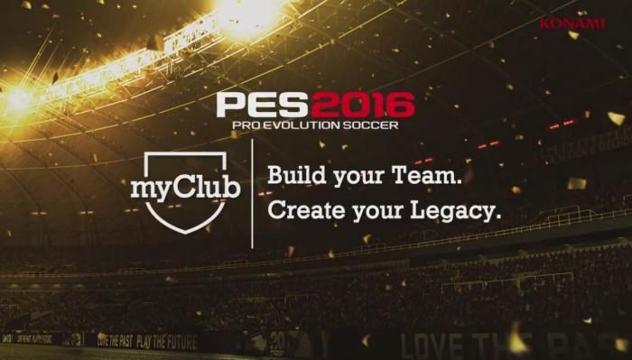 PES2016 MY CLUB