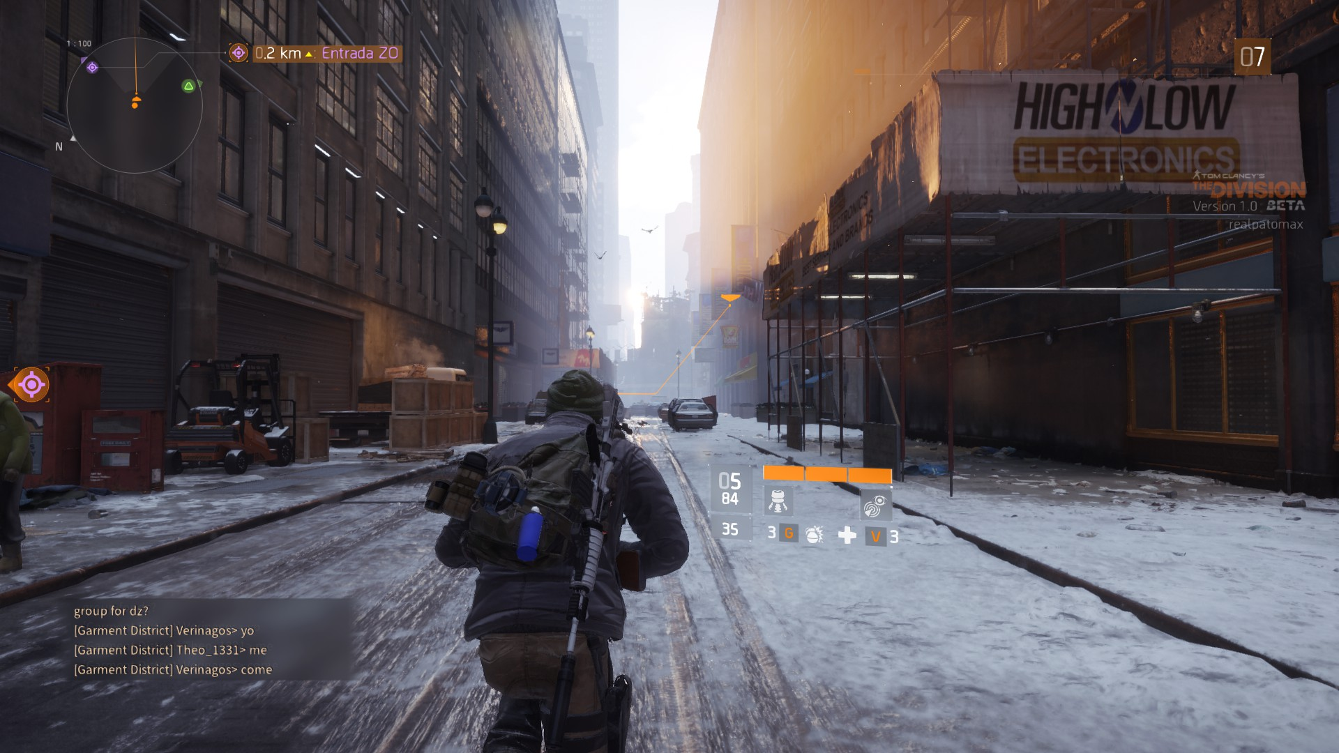 LagZero αlfa-βeta: Tom Clancy's The Division