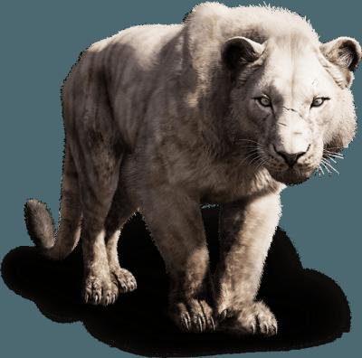 Mi animal favorito – el león de montaña. Te marca malos en el mapa, igualito a D-Dog.