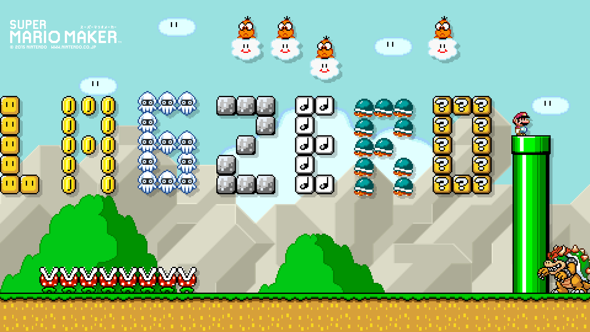 lagzero mario maker wallpapaer