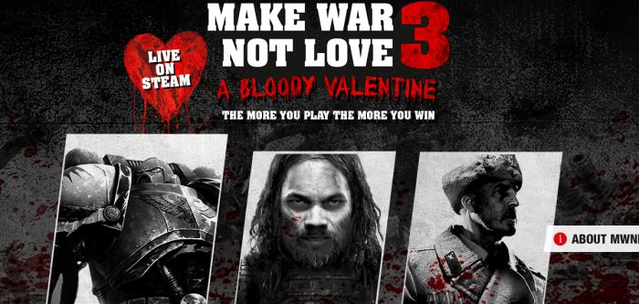 make war not love 3