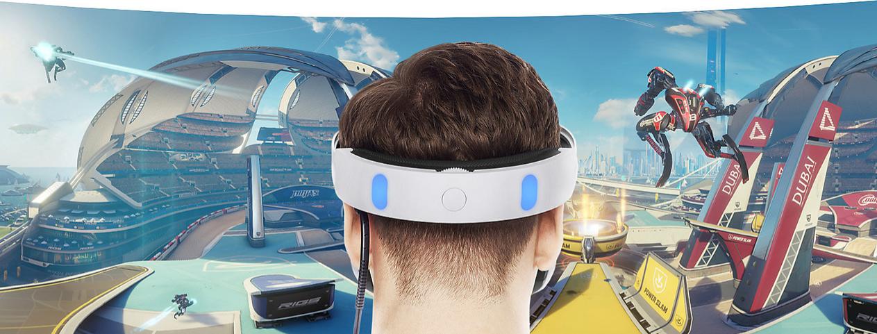 PLAYSTATION VR HEADER