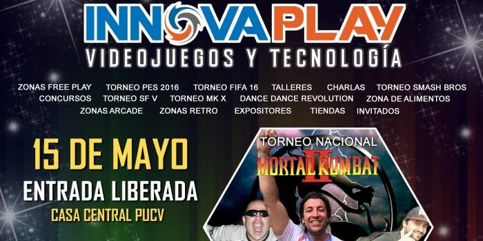 El próximo 15 de Mayo se lleva a cabo INNOVAPLAY PUCV