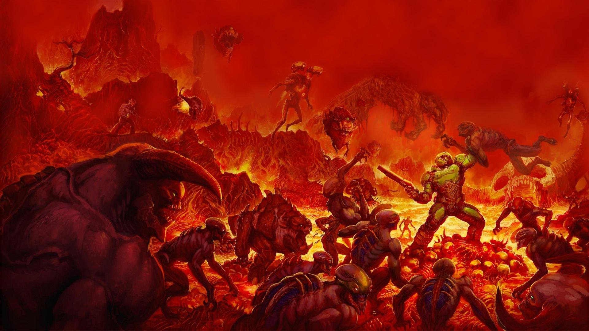 Porque todos amamos Doom y su arte [Video ilustrativo]