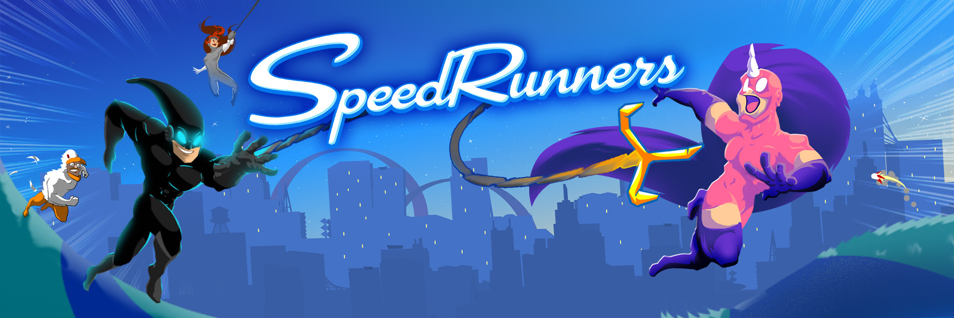 El genial Speedrunners deja el Early Access y se lanza este 19 de Abril