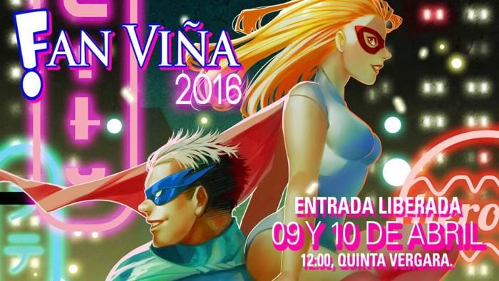 Fan Viña 2016 llega este 9 y 10 de abril a la Quinta Región