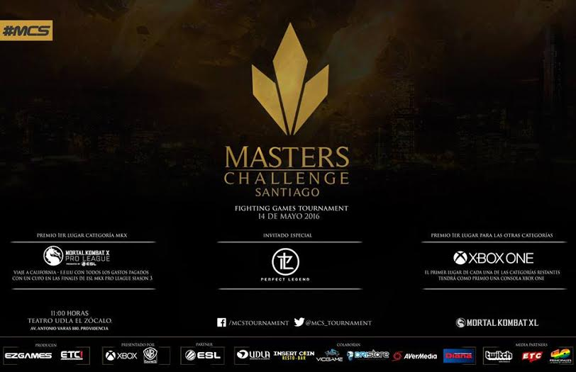 "Este miércoles 13 comienza ""Masters Challenge Santiago"""