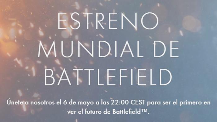 Sigue la Battlefield World Premiere con nosotros