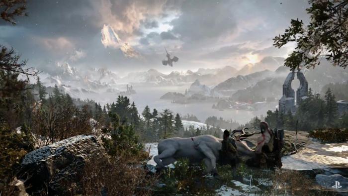 Con ustedes: el tráiler gameplay del nuevo God of War [#E32016]