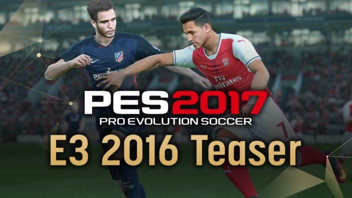 PES2017 E3 2016