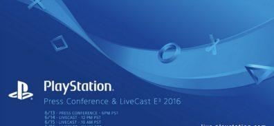 Sigue con Nosotros la conferencia de Sony [#E32016]
