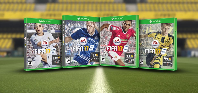 Los fans decidirán quién estará en la portada de EA Sports #FIFA17