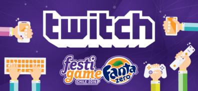 Twitch y Mike Ross también estarán presentes en Festigame 2016
