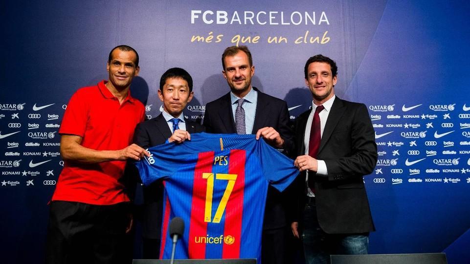 Barcelona y PES 2017 se unen en nuevo tráiler y además en la vida real