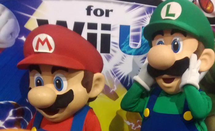 Mario protagoniza bienvenida a los Juegos Olímpicos de Tokio