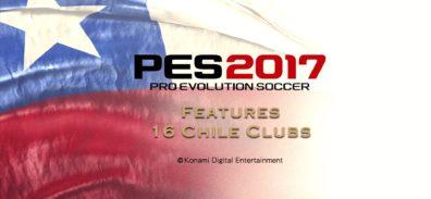 PES 2017 tendrá 16 equipos de la primera división Chilena