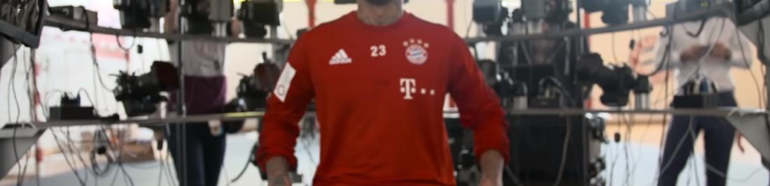 Así se ve Arturo Vidal y sus compañeros del Bayern Munich en FIFA 17