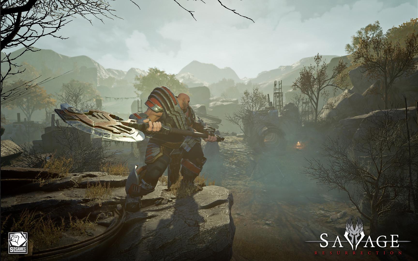 Savage Resurrection es una mezcla de acciòn y estrategia que ya esta disponible en Steam