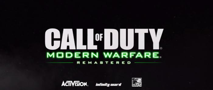 Call of Duty Modern Warfare Remastered: Activision confirma 16 mapas y libera trailer multiplayer
