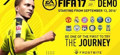 La Demo de EA Sports FIFA 17 ya está disponible