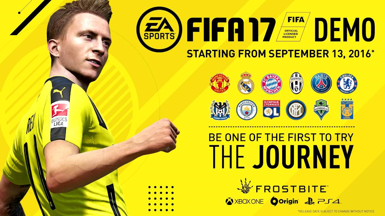 La Demo de EA Sports FIFA 17 ya está disponible