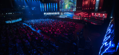 Crowd at the 2016 World Championship - Group Stage at the Bill Graham Civic Auditorium in San Francisco, California, USA on 7 Ocotber 2016.
