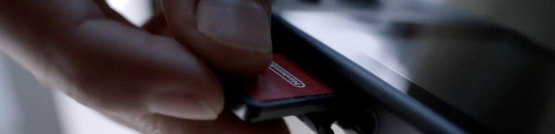 Nintendo Switch usará cartuchos para sus juegos [Anuncios]