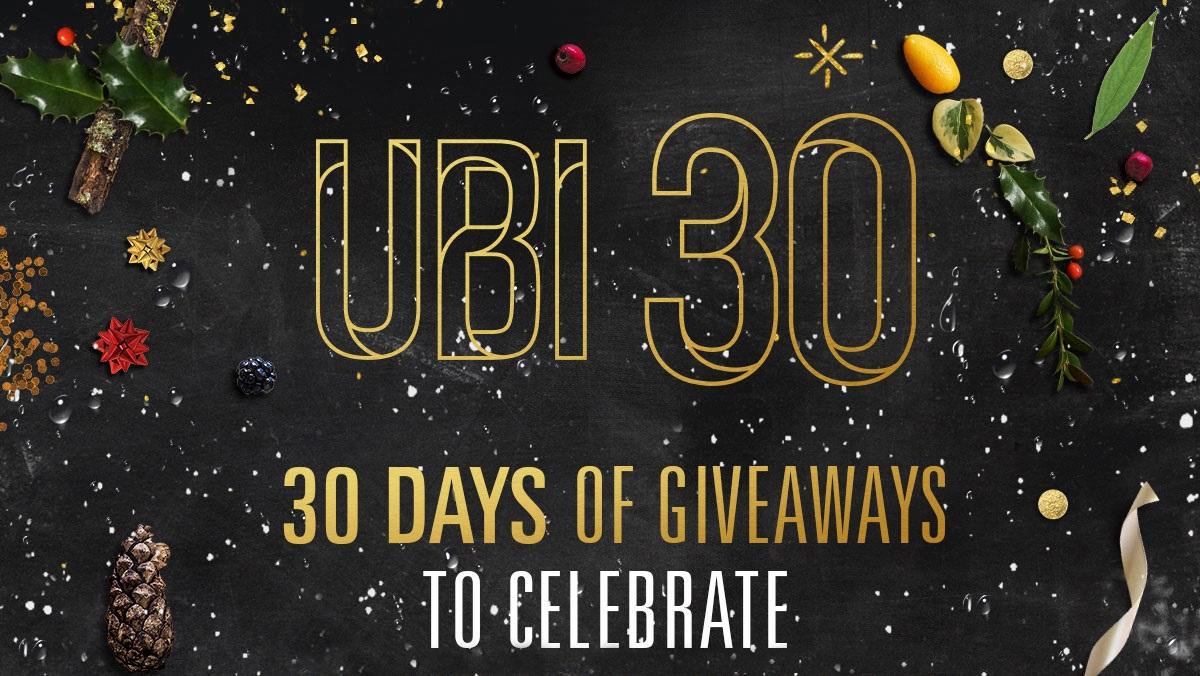 Ubisoft celebra 30 años en la industria con 30 días de regalos para los fans