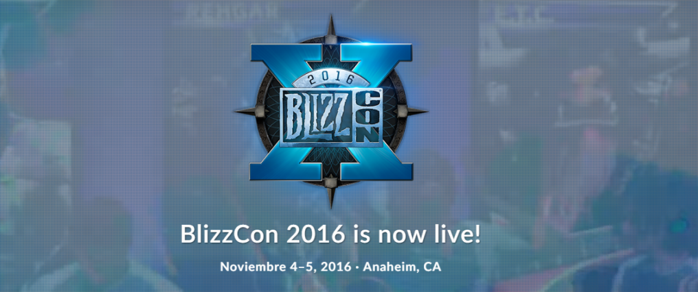 Sigue con nosotros el inicio de la Blizzcon 2016