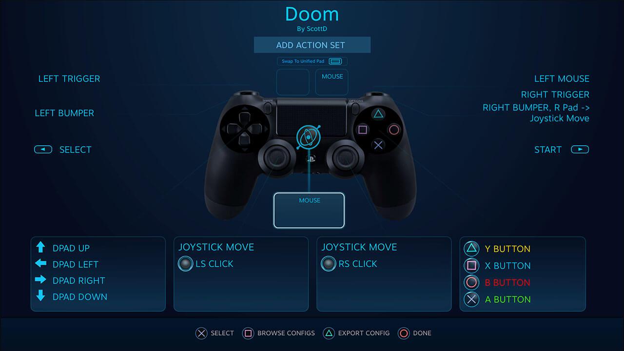 Steam lanza soporte oficial para controles Dualshock 4 pero por ahora en su modo beta