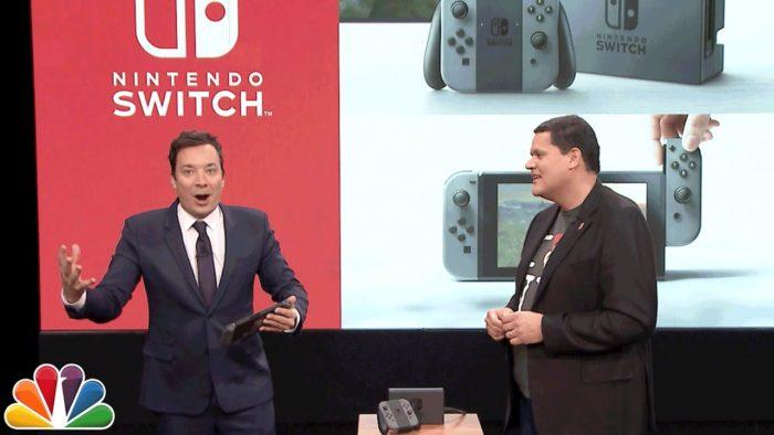 Jimmy Fallon juega Mario Run y prueba el nuevo Zelda en la Nintendo Switch