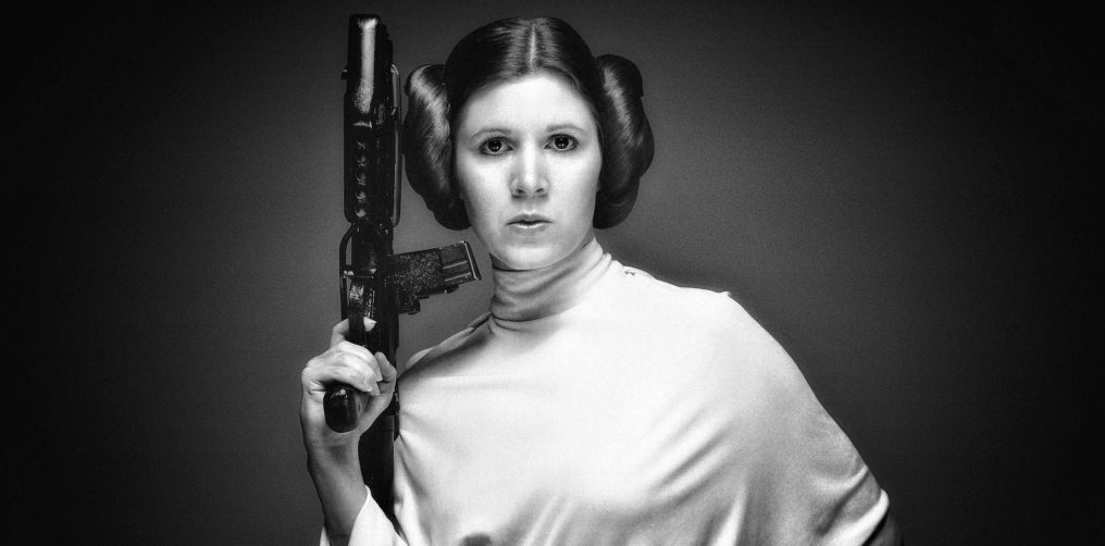 Adios y hasta siempre princesa Carrie Fisher