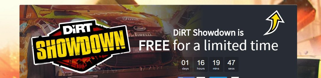 Dirt Showdown gratis en Humble Store y Mass Effect 2 lo invita la casa en Origin