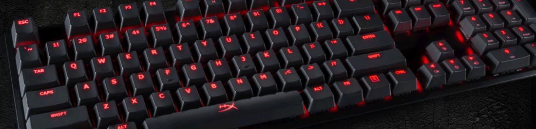 HyperX anuncia en CES 2017 un nuevo teclado RGB y el mouse Pulsefire para videojuegos