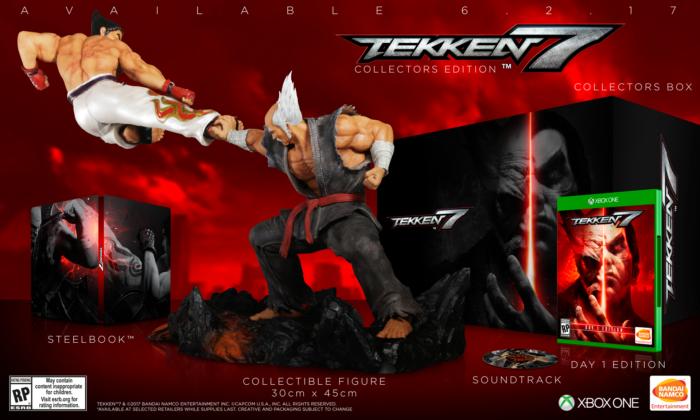 Se anuncia lanzamiento de TEKKEN 7 para el 2 de junio