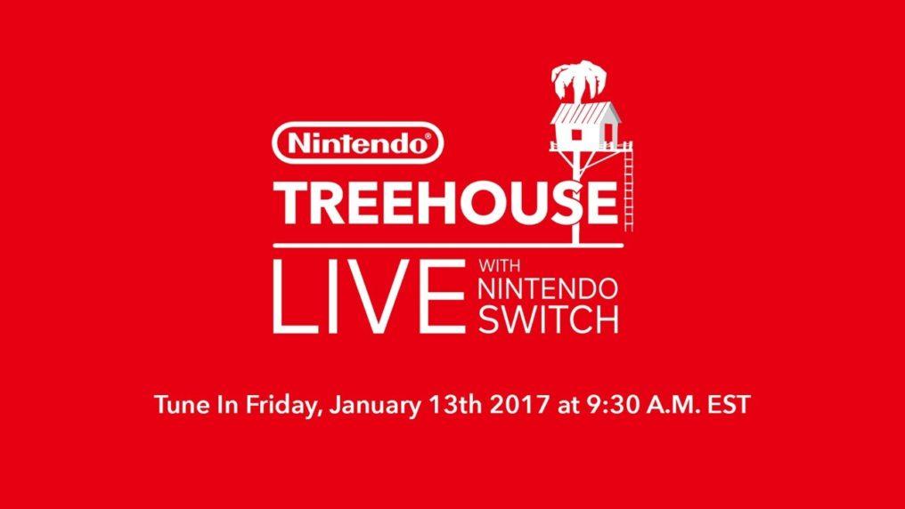 Sigue el Nintendo Treehouse Live sobre Nintendo Switch AHORA