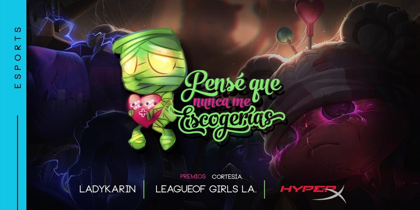 League of Legends y HyperX presentan torneo de San Valentín