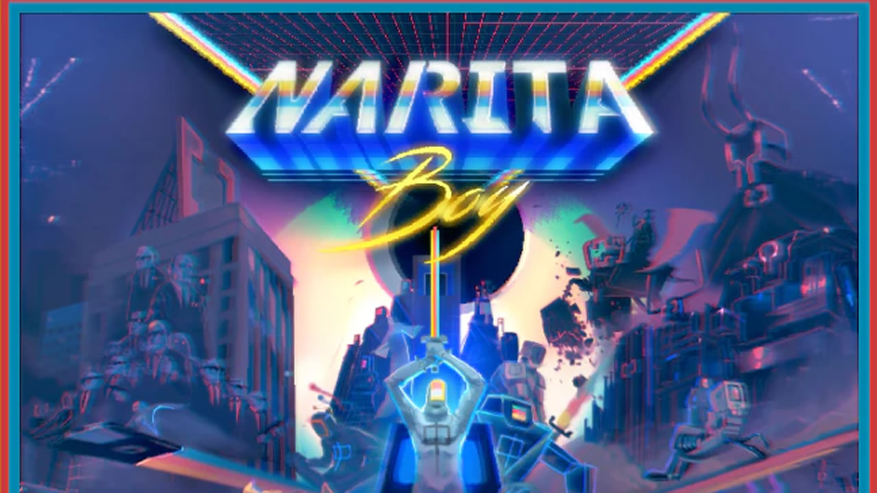 Narita Boy comenzó su campaña kickstarter y se ve prometedor