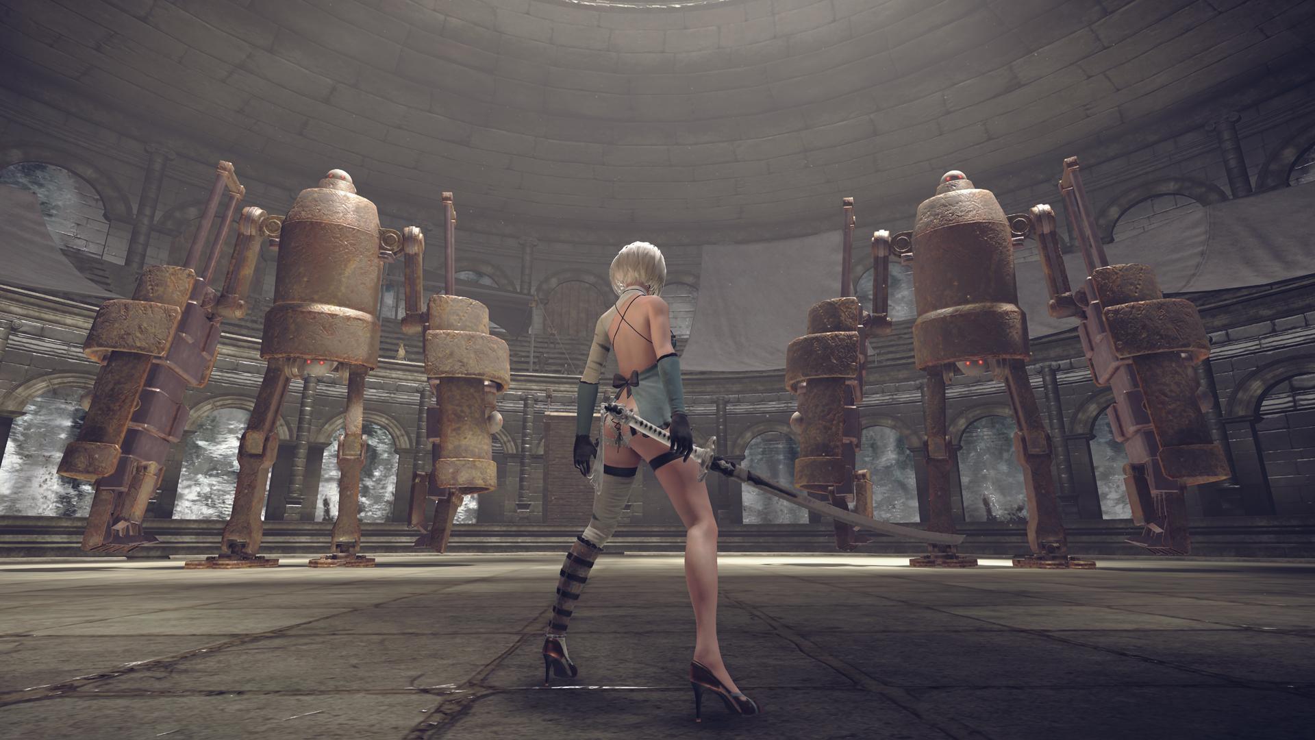 El proximo DLC de Nier: Automata trae más de lo que todos quieren ver [Dat Ass]
