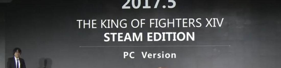 Prepara esos combos, The King of Fighters XIV anunciado para PC