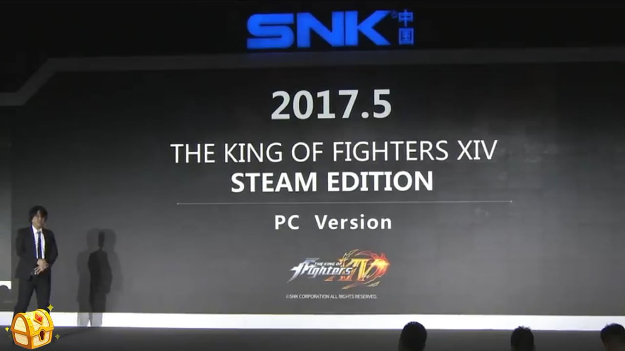 Prepara esos combos, The King of Fighters XIV anunciado para PC