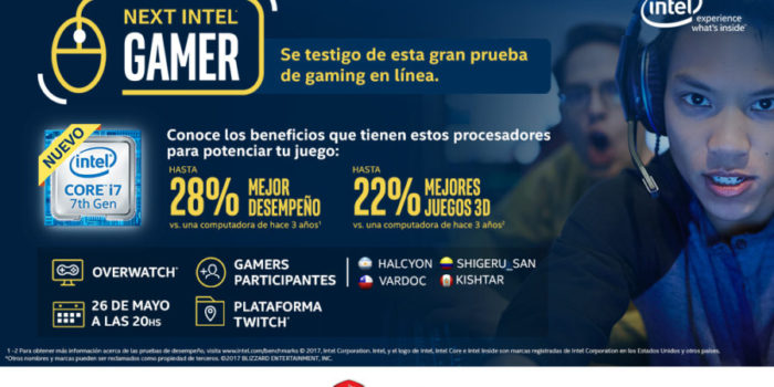 "Intel y MSI presentan ""The Next Intel Gamer"" Latinoamérica"