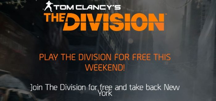 Juega The Division gratis desde el 4 al 7 de Mayo