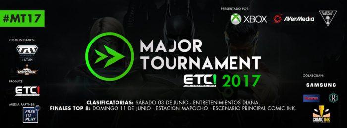 Esta semana comienza Major Tournament 2017