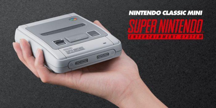 Nintendo anuncia la Super Nintendo Mini y su fecha de lanzamiento