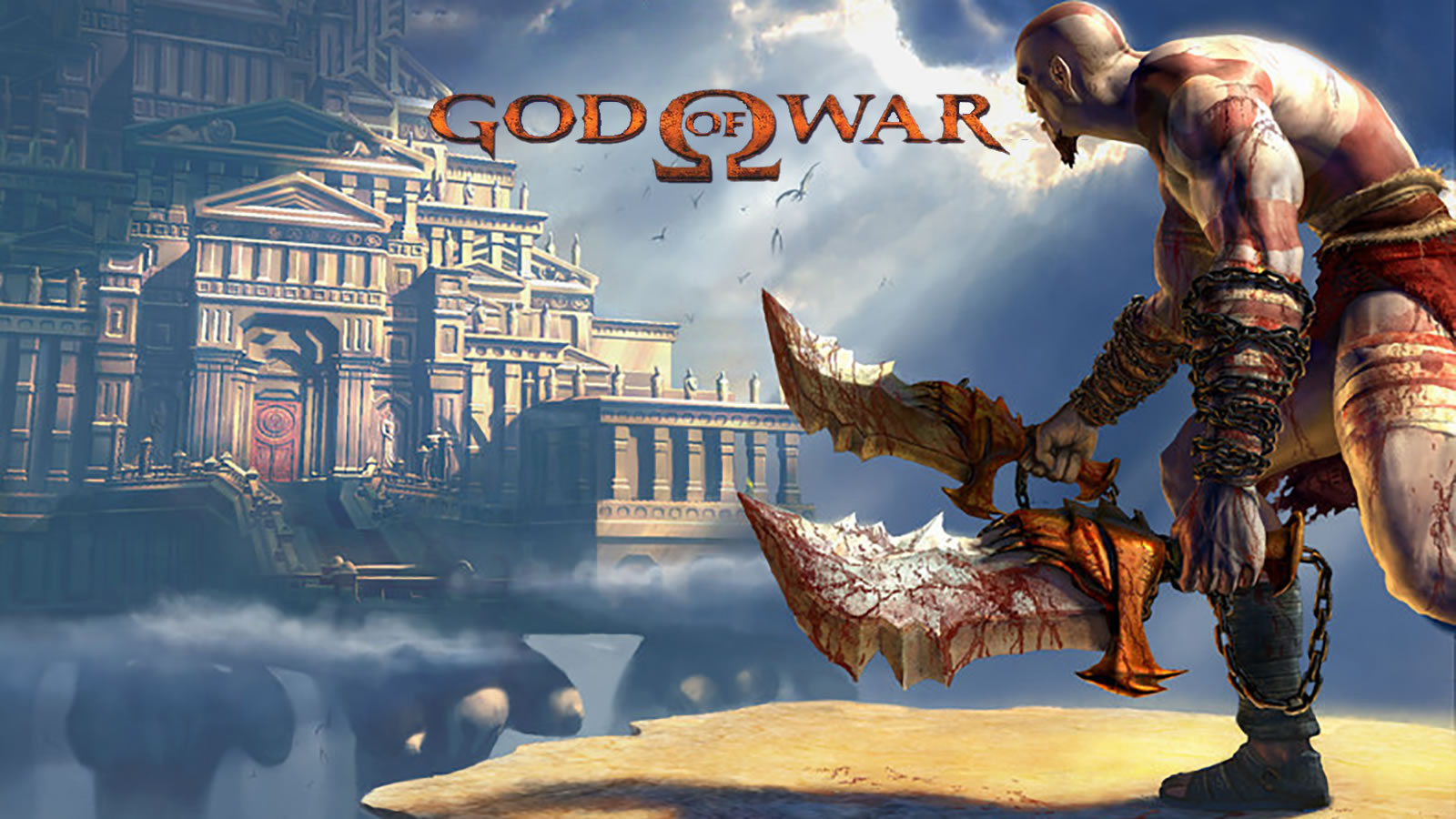 Esto es God of War Collection pero corriendo en PC