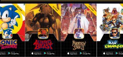 Sega Forever, el pack de juegos gratuitos para iOS y Android